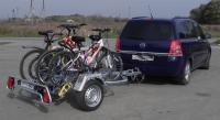 Прицепы для перевозки велосипедов