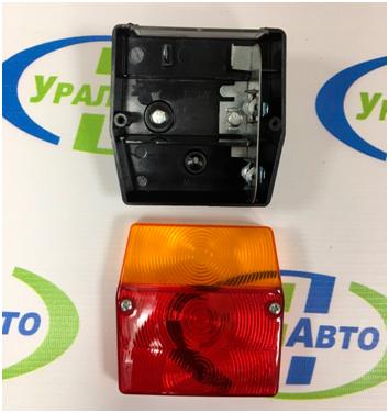 Фонарь задний MD-002 №17015<br>а/лампа ,1кон P21, 1 конт P21, AC 12-10 31 мм