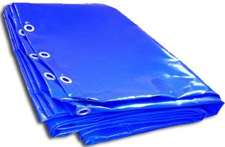 Тент МЗСА 817718 /352018/Hвнутр.=1800 мм/синий/3,5*1,95