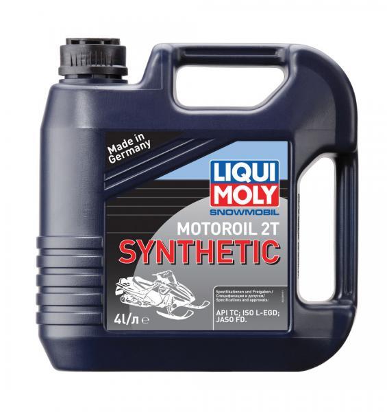 Синтетическое моторное масло для снегоходов Snowmobil Motoroil 2T Synthetic