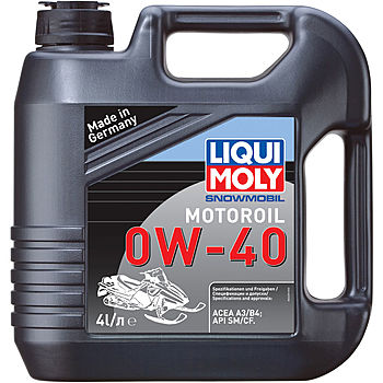 Синтетическое моторное масло для снегоходов Snowmobil Motoroil 0W-40