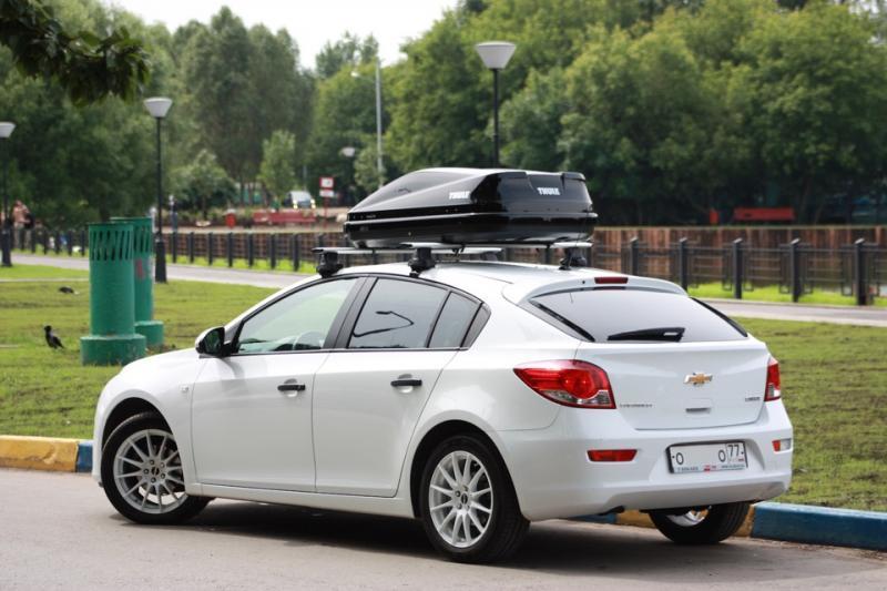 Багажник Chevrolet Cruze хечбек с 2011--LUX аэро-классик (53)
