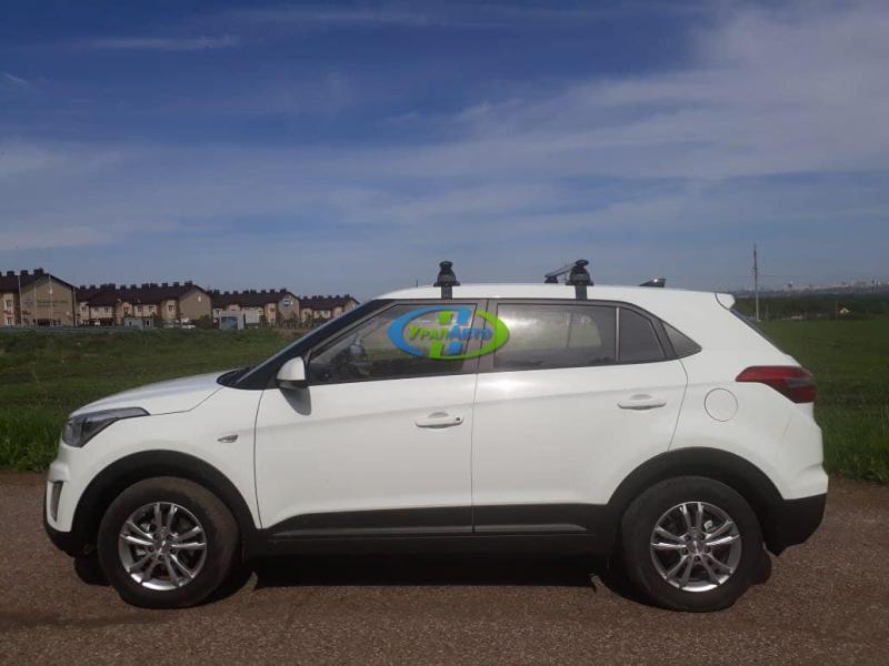 Багажник Hyundai Creta с 2016- LUX аэро (73мм)