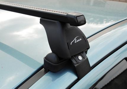 Багажник Hyundai Santa Fe III без рейлингов с 2012- LUX классик