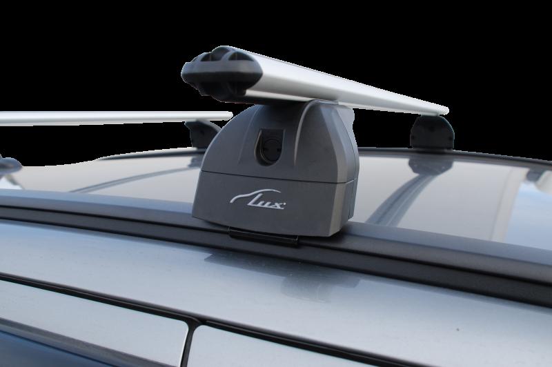 Багажник Kia Sportage IV 2016---интегр.рейлинги LUX аэро (73мм)
