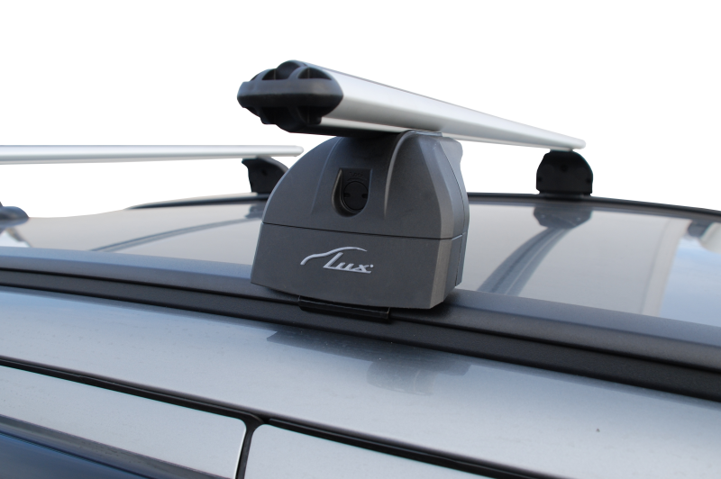 Багажник Kia Cee'd II универсал с 2012г  интегр.рейлинги LUX аэро (73мм)
