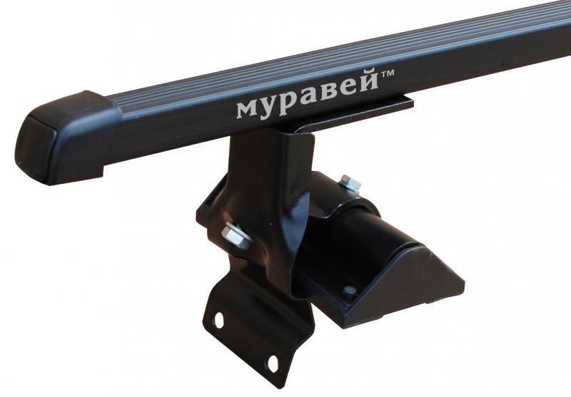 """Багажник """"Муравей"""" для а/м Lada 1118,1119 седан/хечбек с дугами 1,2м в пластике"""