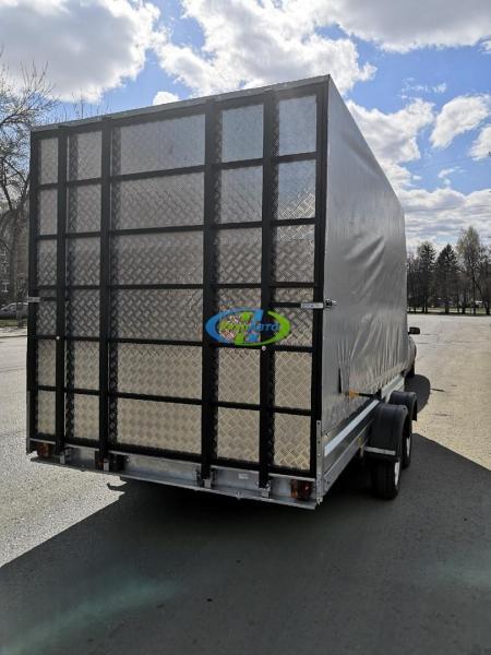 Прицеп Автос 2-осный /изготовление трапа