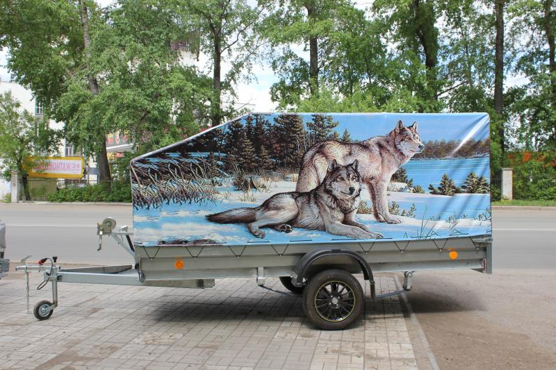 Изготовим тент на заказ (Вариант 1)Волки