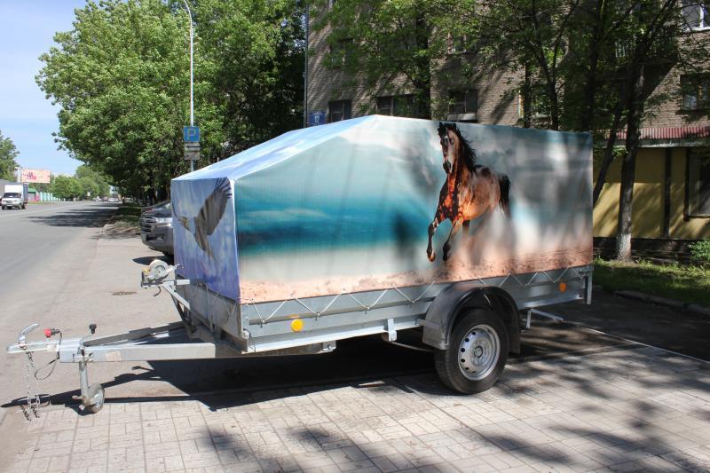 Изготовим тент на заказ (Вариант 3)Лошади