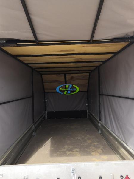 Легковой прицеп Викинг-716104 (3520*1500*290)с откидной крышкой