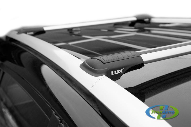 Багажная система LUX ХАНТЕР L42-R для автомобилей с рейлингами