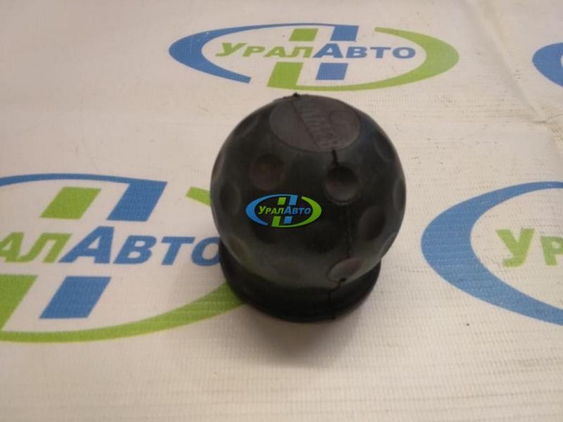 Колпачок фаркопа  VAMER черный /белый/резина/