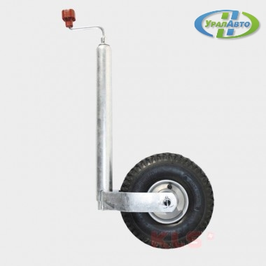 Колесо опорное  200 кг ПЛЮС 260*85 , пневм.шина/1222438/