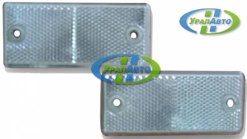 Световозвращатель белый DOB34 В квадр отвест