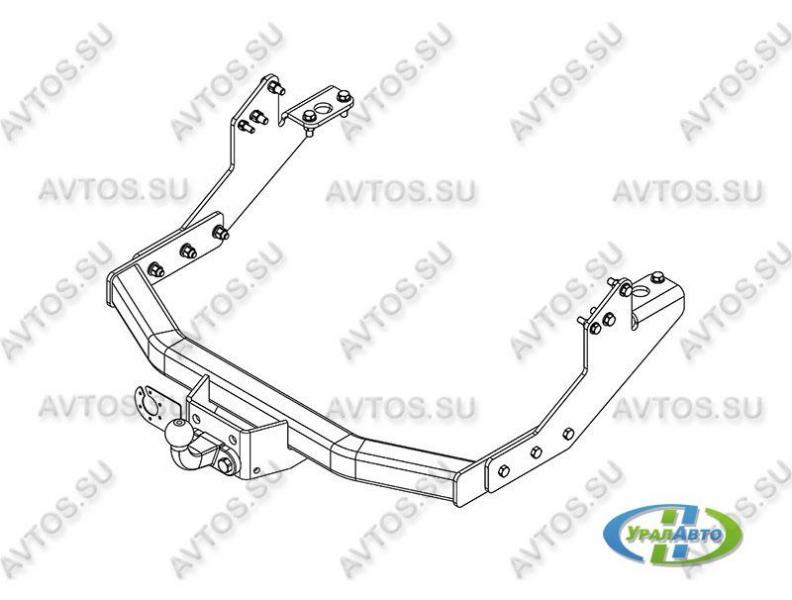 Фаркоп ГАЗ 330202 Next van (4dr.) цельнометалл.фургонGAZ-14 Автос
