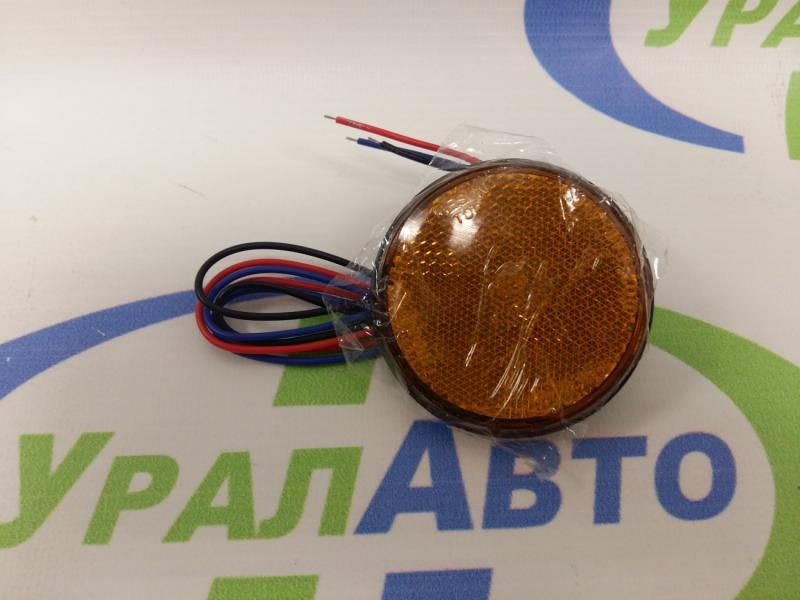 Фонарь габ. CP457 LED кругл /желтый/