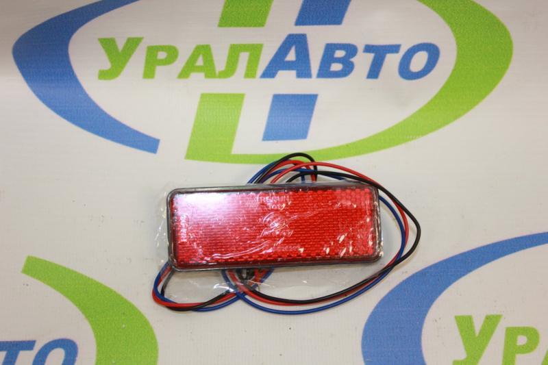 Фонарь габ. CP458 LED квадр. /красный/