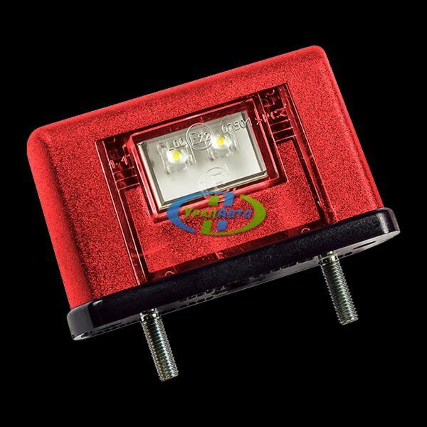 Фонарь подсветки ном.знака ЕС 10 LED красный