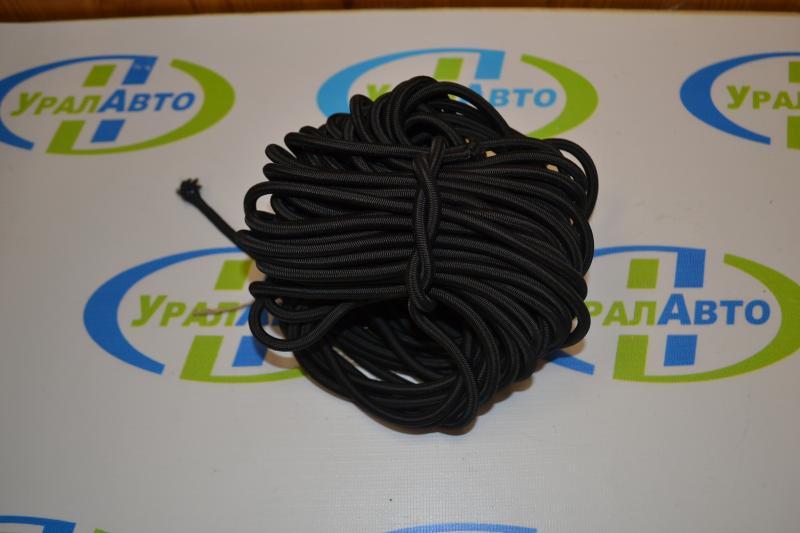Шнур резиновый в оплетке 6 мм*250 м