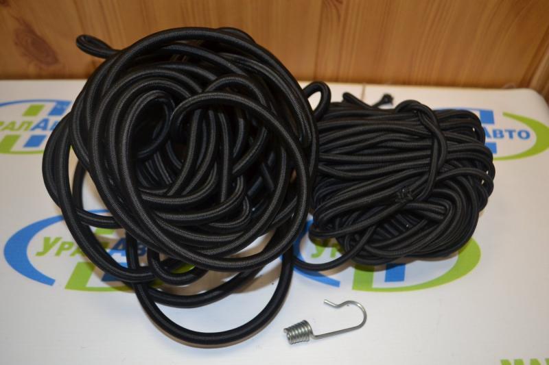 Шнур тента /эспандер/ 8мм ченый (1м)