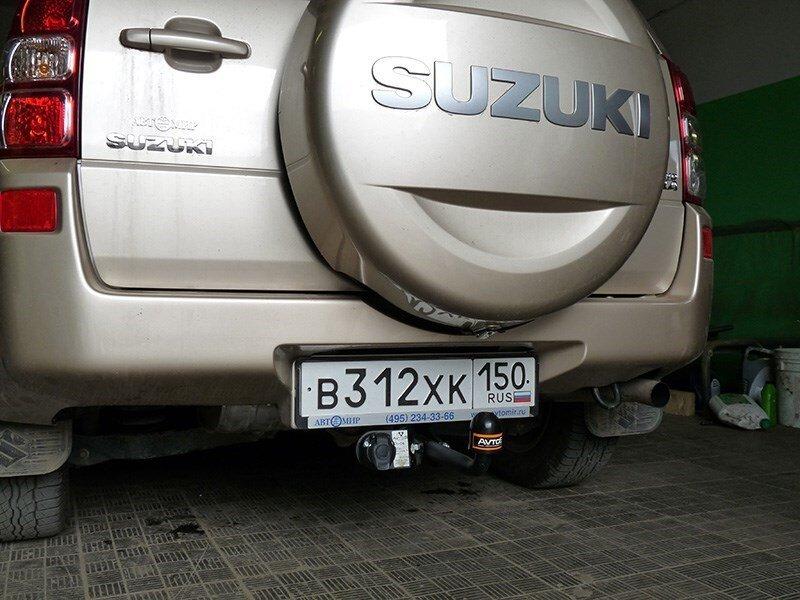 Фаркоп SUZUKI Grand Vitara 5дв (2005--)Автос SZ 06